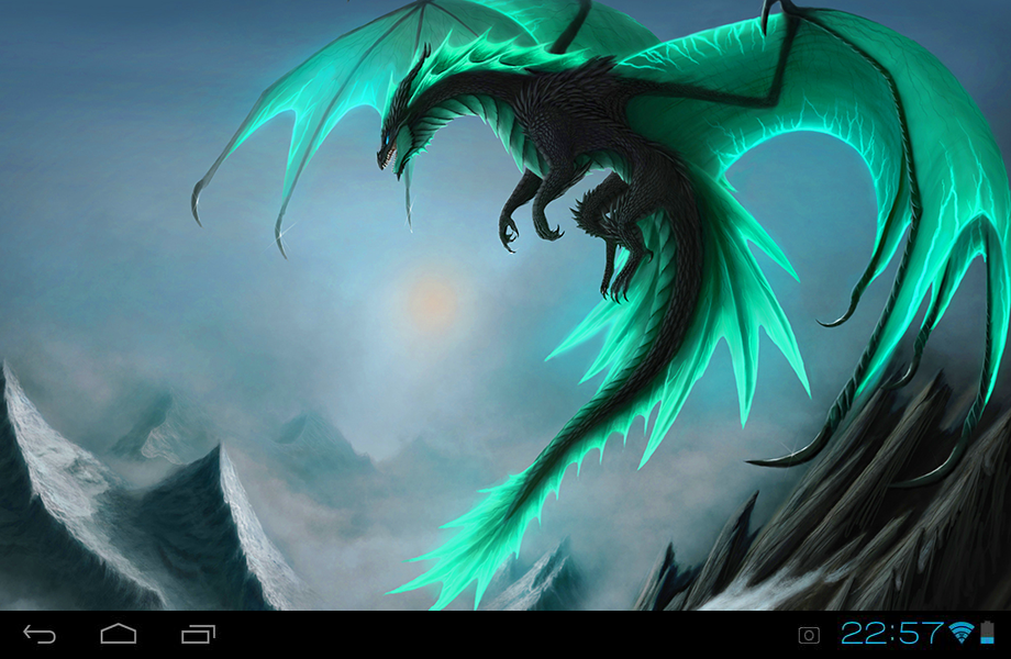 Dragons live wallpaper android apps on google play dragons live wallpaper screenshot voltagebd Images