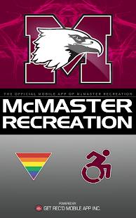 McMaster Recreation- screenshot thumbnail