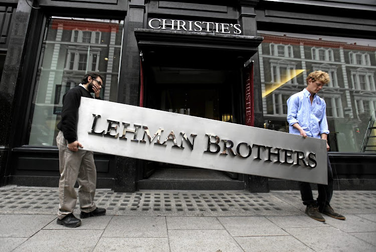 The 2008 global financial crisis, and the Lehman Brothers bankruptcy, prompted international efforts to tighten capital requirements for banks. Picture: GETTY IMAGES