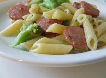 Sausage Broccoli Penne