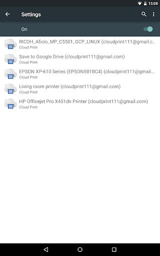 Cloud Print 1.40 screenshots 11