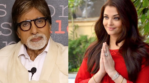 Bollywood stars Amitabh Bacchan and his daughter in law Aishwarya Rai named in the Panama Papers. Image remix via wikimedia commons. Used under a CC license.