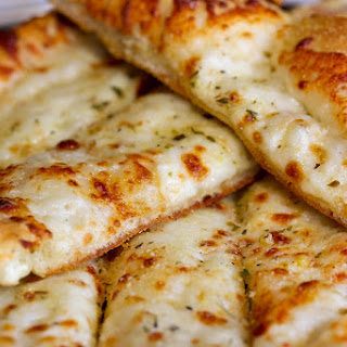 Cheese Garlic Breadsticks