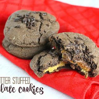 Peanut Butter Stuffed Cookies.