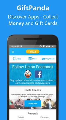 GiftPanda - Rewards & Gifts - screenshot