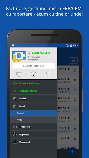 GTCont - facturare u0219i gestiune  screenshots 5