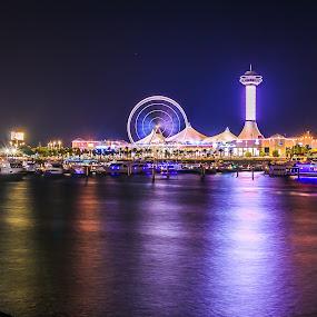 Marina Abudhabi by Rene Timbang - City,  Street & Park  Amusement Parks ( #explore #exploringthecity #photowalk #longexposure #marina #mycapture )
