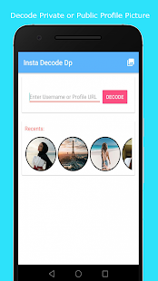 Premium Insta Decode Profile - náhled