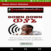 Down down woyane ringtone