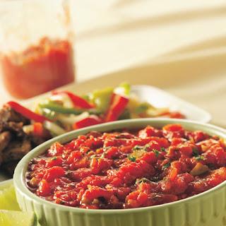 Roasted Tomato-Chipotle Salsa.