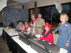 Photo: Tracy, Jim, Judy, Fred, Diane, & Karen:  Potography team