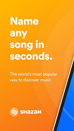 Shazam Android App Screenshot