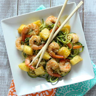 Skinny Shrimp & Pineapple Teriyaki
