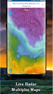 National Weather Forecast services & Radar channel