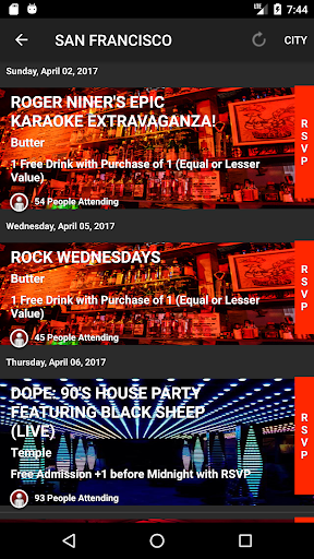 Download Guest List Nation for Android 3.38 1