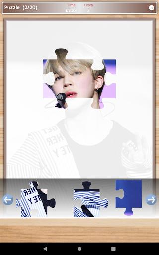 Jimin BTS Game Puzzle And Wallpapers HD 1.3 screenshots 20