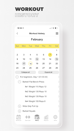 Fitness: Workout for Gym|Home  screenshots 6