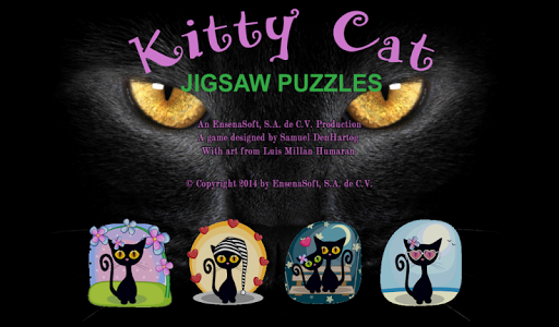 Kitty Cat Jigsaw Puzzles