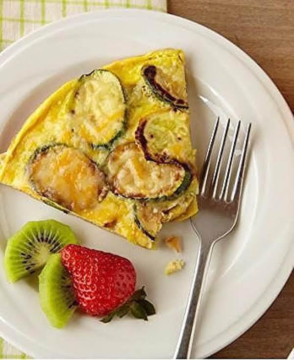 Zucchini & Squash Egg Frittata Recipe