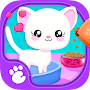 Cute and Tiny Pets - Kids Build Casas de animales para bebés APK icon
