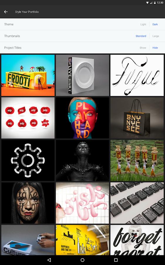 Creative Portfolio- screenshot