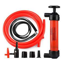Mini pompa de transfer lichide, manuala - Siphon Pump