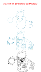 How To Draw Naruto Characters Step By Step 1 0 Seedroid