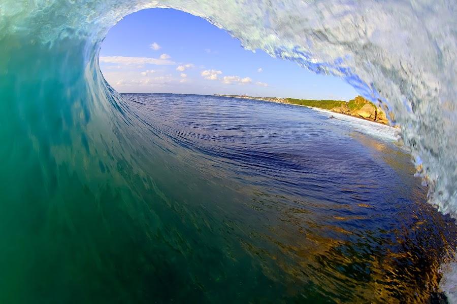 Deep blue by Trevor Murphy - Landscapes Waterscapes ( waves, boats, art, sun )