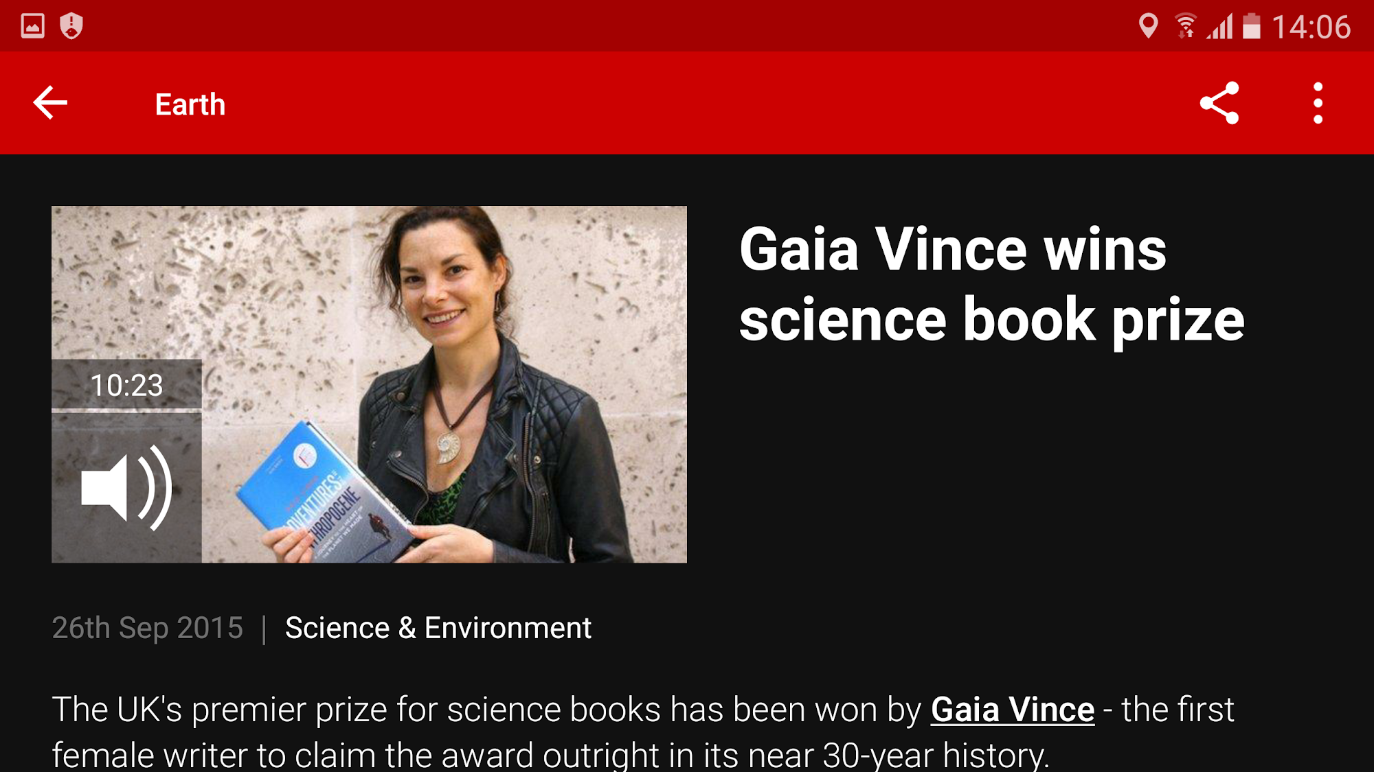 BBC News screenshot #5