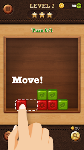 Break the Block: Slide Puzzle Android App Screenshot