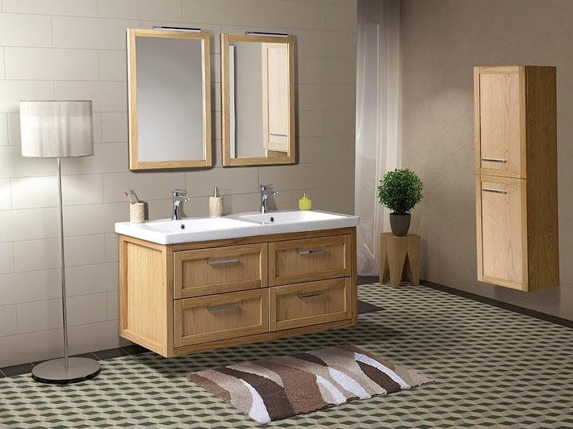 Meble drewniane w łazience