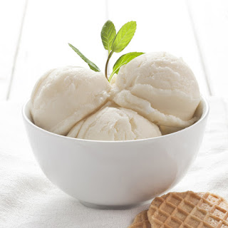 Easy Vanilla Ice Cream for 1.5 Quart Ice Cream Maker.