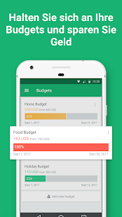 Spendee - budget and expense tracking & bank sync Screenshot