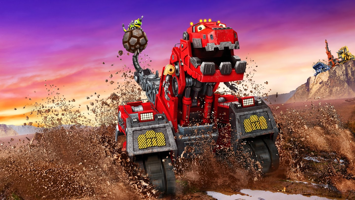 Watch Dinotrux live