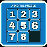 Digital Puzzle (Number block arranging game)