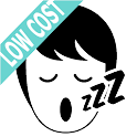 Stop snoring aid with info and personal warnings icon