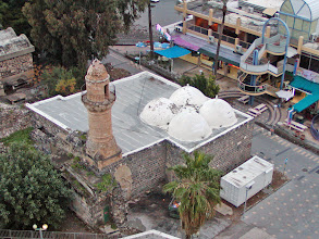 Photo: An abandoned mosque adjacent to our hotel