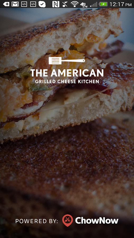 The American Grilled Cheese- screenshot