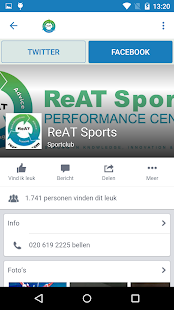 ReAT Fysiotherapie- screenshot thumbnail
