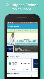 Coupon Sherpa- screenshot thumbnail