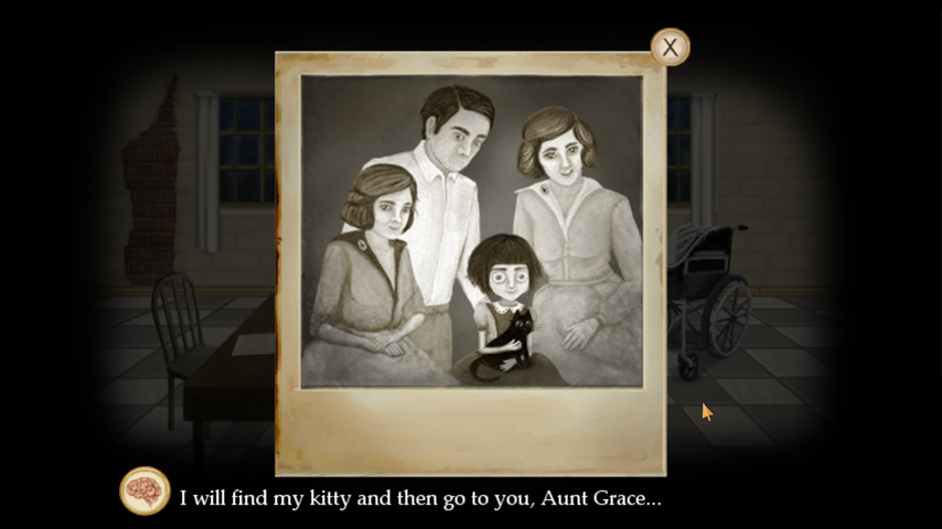 Fran Bow Chapter 1- screenshot