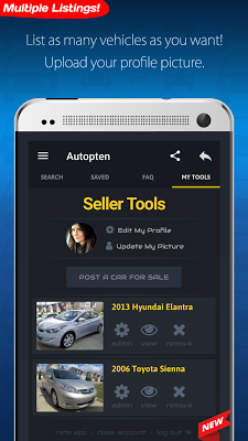 Cheap Cars For Sale - Autopten Used Car Finder - screenshot
