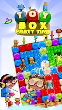 Toy Box Party Blast Time - Match Crush Toon Cubes