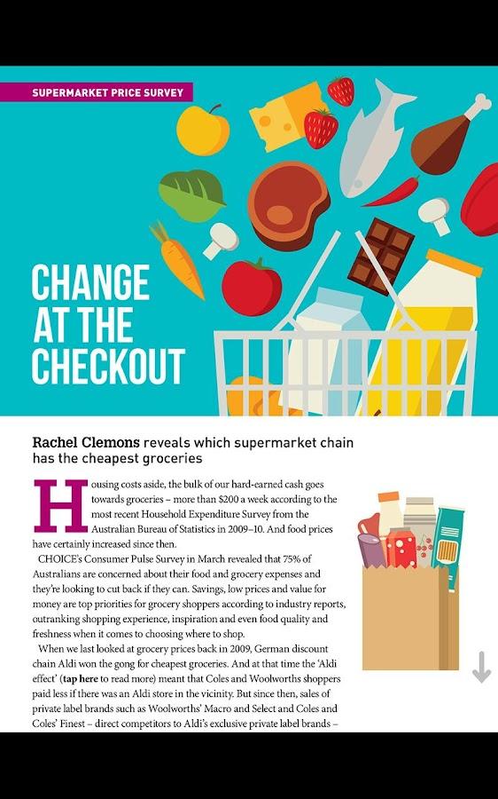 CHOICE Magazine - screenshot
