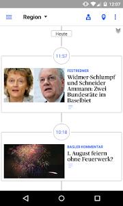 bz Basel News screenshot 2