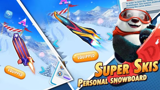 Ski Crazy Safari : Adventure World Screenshot