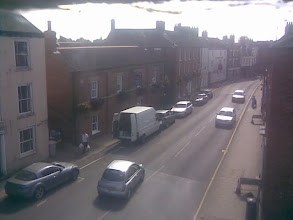 Photo: Looking south down Horncastle's North street, with the Admiral Rodney mainly on the left.