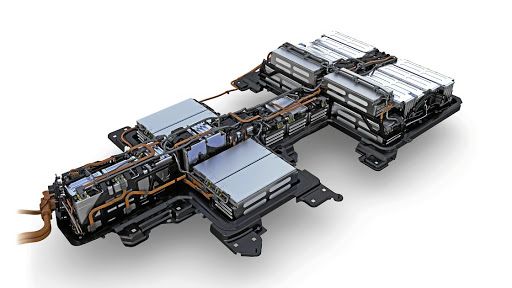 Battery technology such as this in the VW e-Golf is advancing rapidly, but so are the cost projections