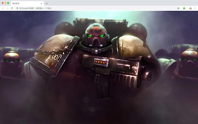 Warhammer New Tab HD Games Top Themes