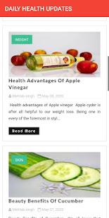 FITNESS FREAK : DAILY HEALTH UPDATES for PC-Windows 7,8,10 and Mac apk screenshot 3